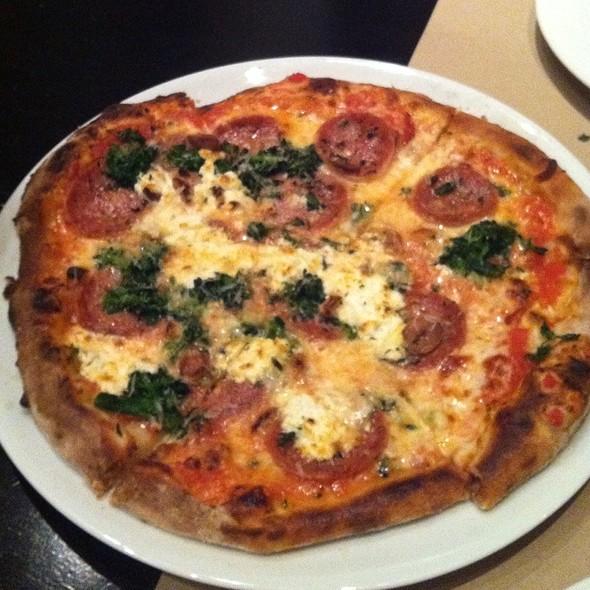 Sausage, Broccoli Rabe, Mozzarella Pizza - Wolfgang Puck Steakhouse - MGM Grand Detroit, Detroit, MI