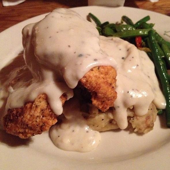 Chicken Fried Chicken - Reata Restaurant-Alpine, Alpine, TX