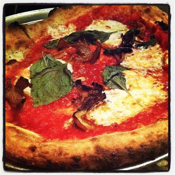 Margherita Pizza - Barbuzzo Restaurant, Philadelphia, PA