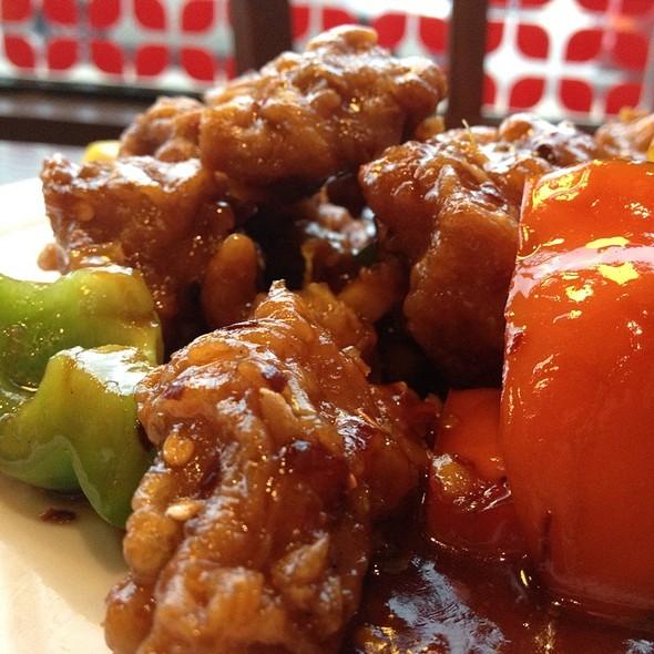 Orange Chicken - Lao Sze Chuan Uptown, Chicago, IL