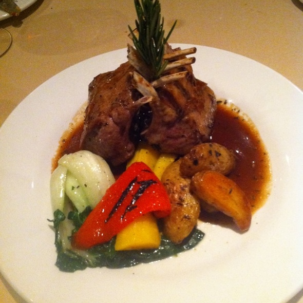 Rack of Lamb - SOLSTICE Restaurant & Wine Bar, Mississauga, ON
