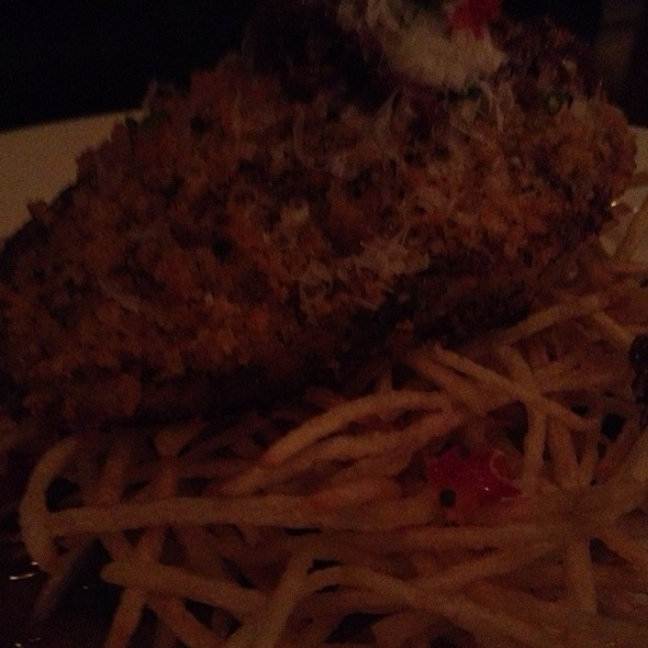 Andouille Crusted Drum - Emeril's Restaurant, New Orleans, LA