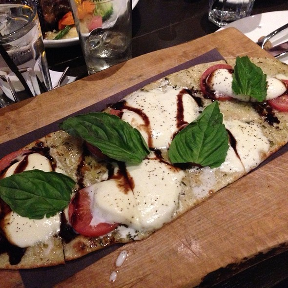 Caprese Flatbread - Against the Grain Urban Tavern-Corus Quay, Toronto, ON