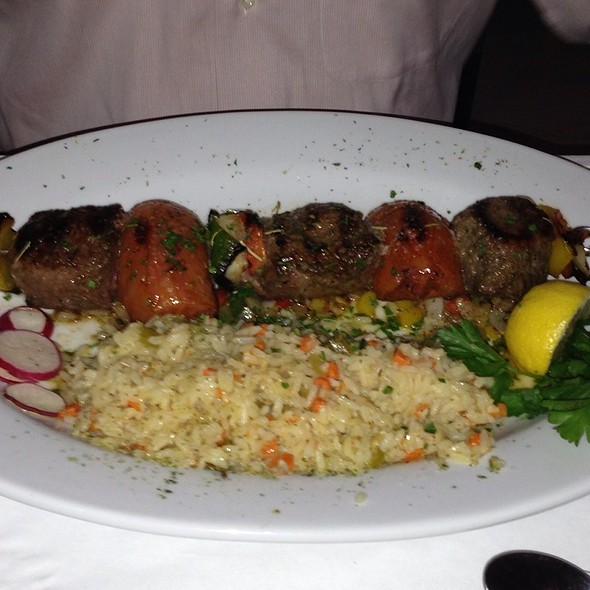 Filet Mignon Shish Kebab - Sea Grill, North Miami Beach, FL