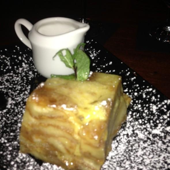 Krispy Kreme Bread Pudding With Lemon Glaze - Frankie Rowland's Steakhouse, Roanoke, VA