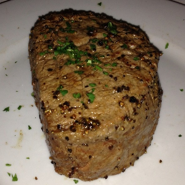 12 Oz Center Cut Filet Mignon - Eddie V's - Dallas, Dallas, TX