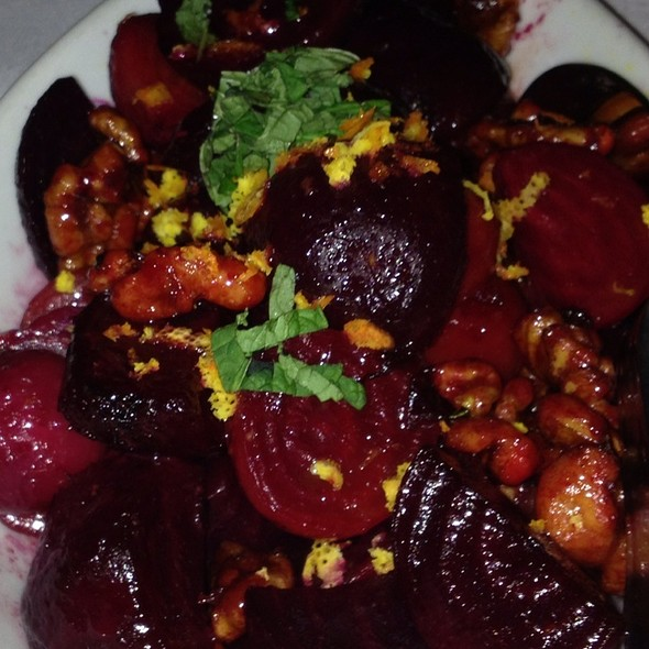 Roasted Baby Beets And Candied Walnuts - Eddie V's - Dallas, Dallas, TX