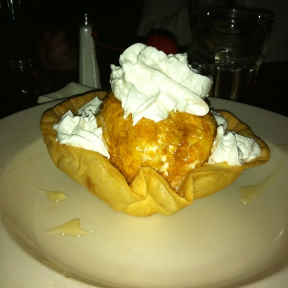 Fried Ice Scream - Arriba Arriba Mexican Restaurant - Queens, Sunnyside, NY