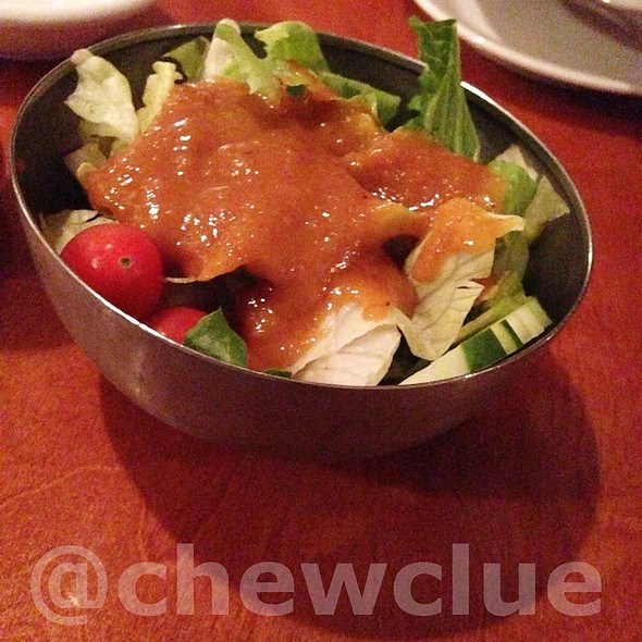 House Salad With Peanut Sauce - Lemongrass - Fort Lauderdale, Fort Lauderdale, FL