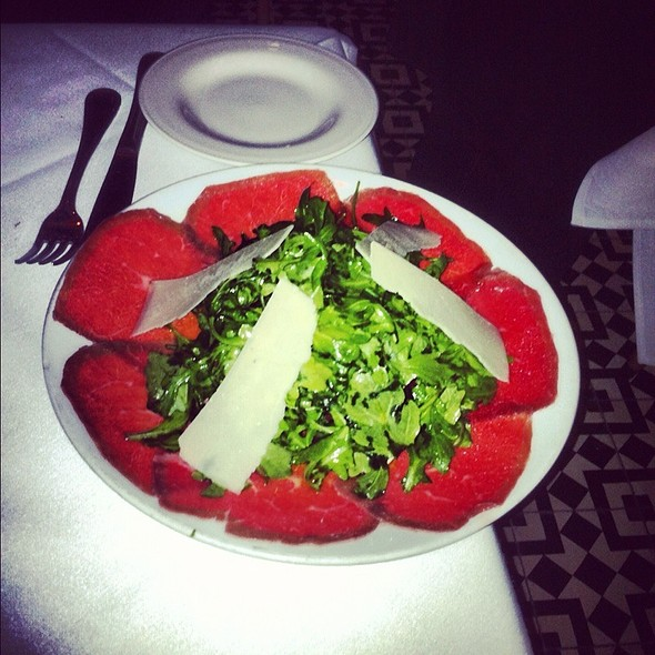 Beef Carpaccio - Brio, New York, NY