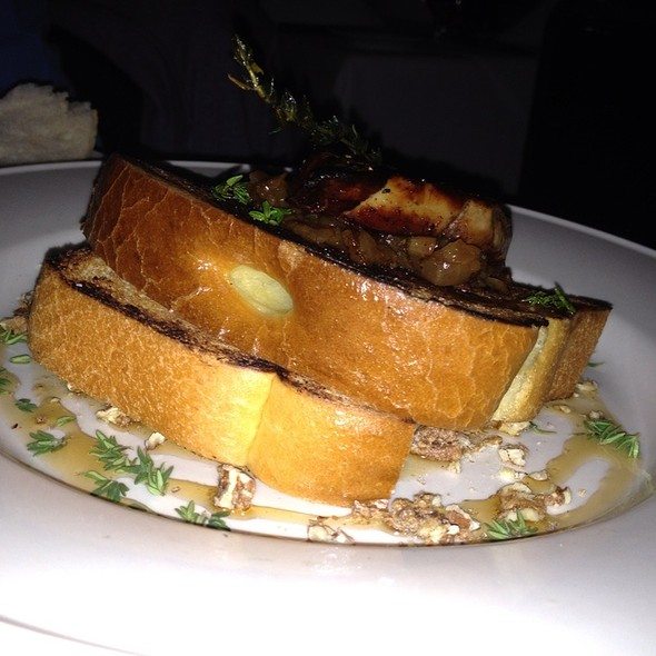 Foie Gras With Toast - Pappas Bros. Steakhouse, Dallas, TX