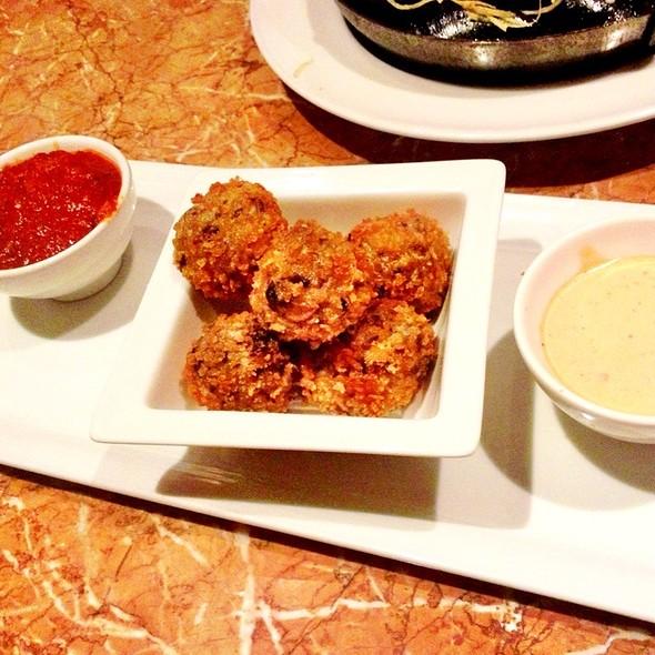 Mushroom & Cheese Risotto Croquettes - Palomino - Bellevue, Bellevue, WA
