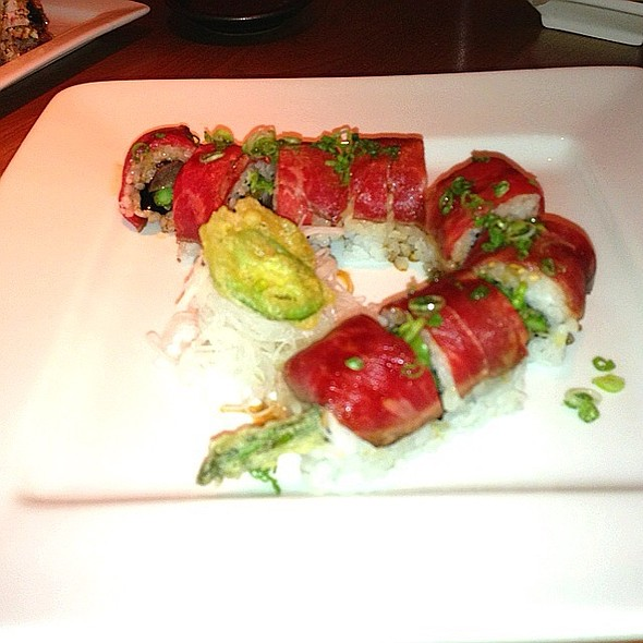 Carnivore Roll - Hapa Sushi Grill and Sake Bar Lodo, Denver, CO