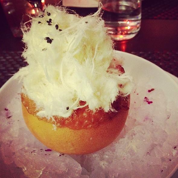 GRAPEFRUIT GIVRÉ Sesame Halva, Rose Loukoum  - Café Boulud, Toronto, ON