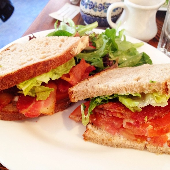Blt On Miche-Rye With German Tartar Sause - Doma na rohu, New York, NY