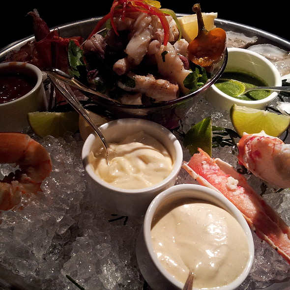 Seafood Sampler - Bristol Restaurant and Bar - Four Seasons Hotel Boston, Boston, MA