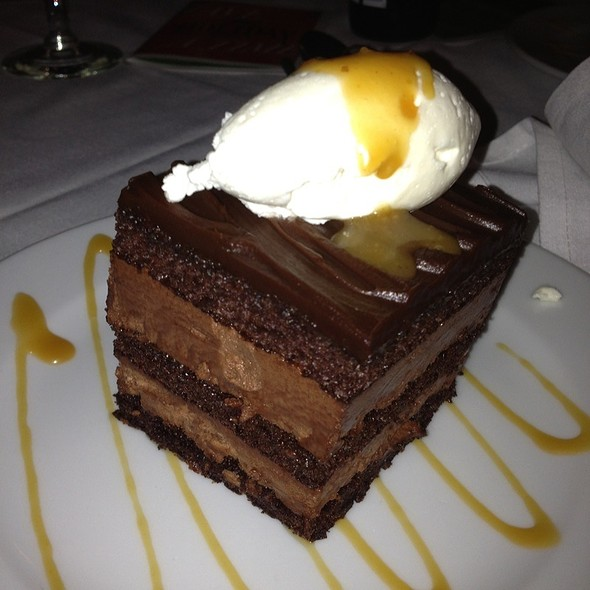 Chocolate Cake - Dining on the 5th, Atlantic City, NJ