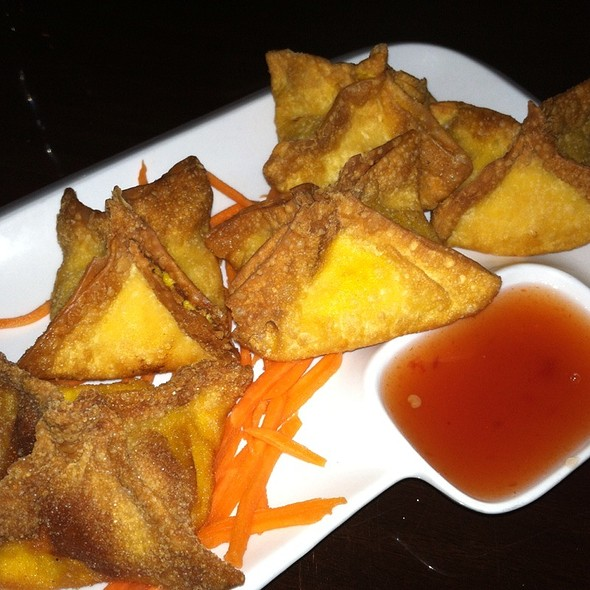 Crab Rangoon - Circles Restaurant - 2nd Street, Philadelphia, PA
