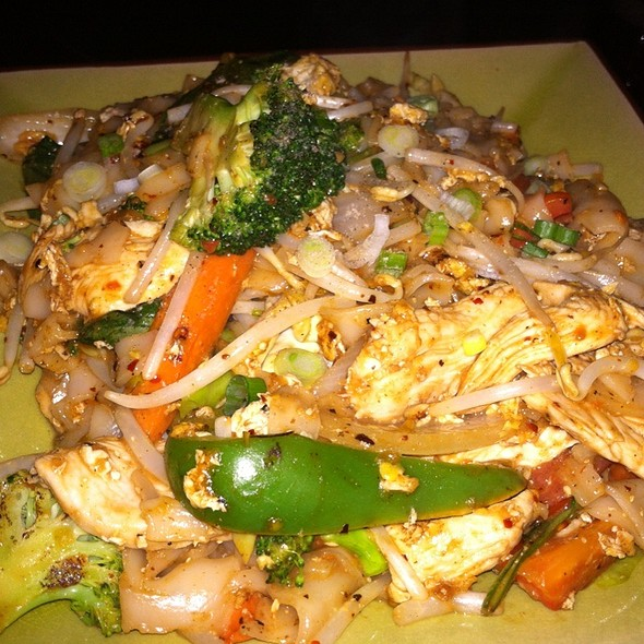 Chicken Pad Keemow - Circles Restaurant - 2nd Street, Philadelphia, PA