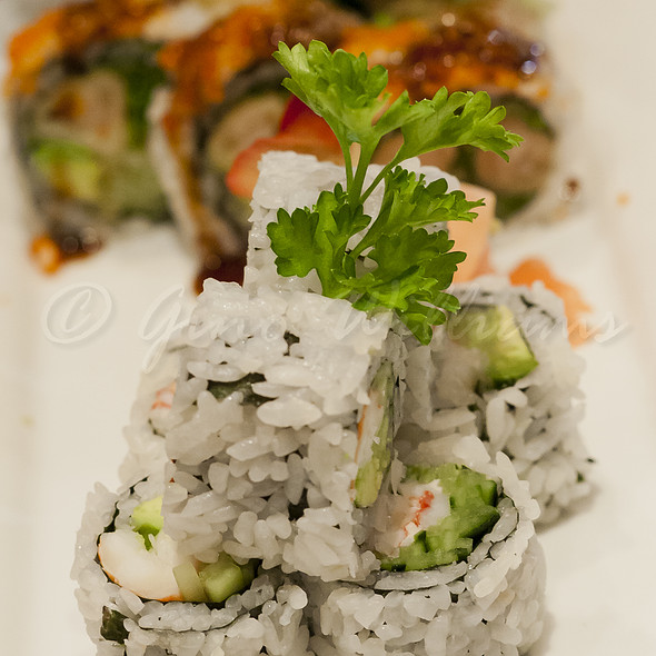 California Roll - Koi Fine Asian Cuisine & Lounge, Evanston, IL