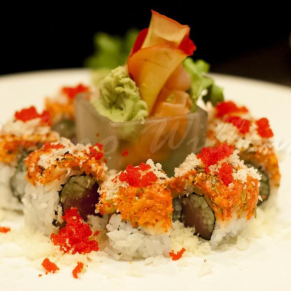 Volcano Maki - Koi Fine Asian Cuisine & Lounge, Evanston, IL