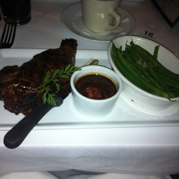New York Strip Steak - Le Paris, New York, NY