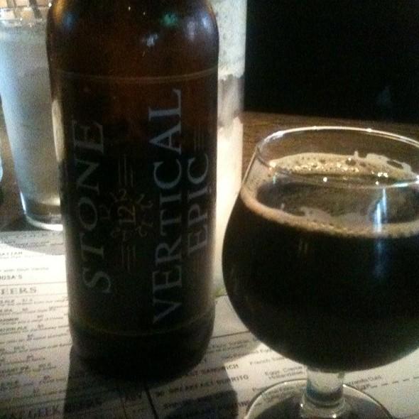 Stone Vertical Epic 12.12.12 - Market Garden Brewery, Cleveland, OH