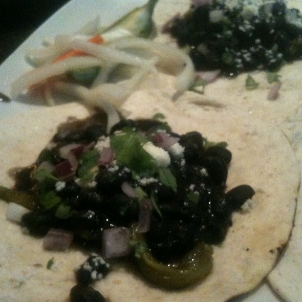 Spiced Black Bean Tacos - Market Garden Brewery, Cleveland, OH
