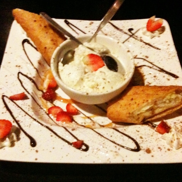 Fried Cheesecake Roll - Masa Restaurant, Tallahassee, FL