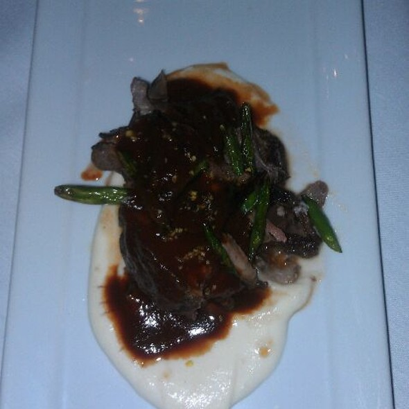 Braised Lamb with Cauliflower Puree - Noble Fare, Savannah, GA