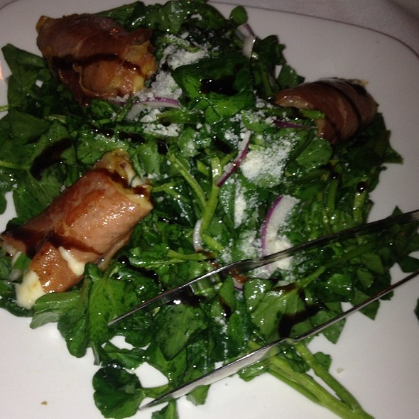 Procuitto And Fresh Mozzerella With Water Cress Salad - Morton's The Steakhouse - Great Neck, Great Neck, NY