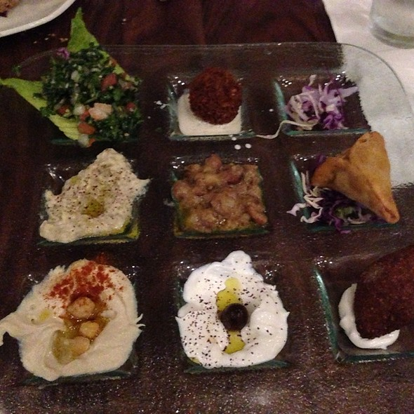 Mezza Sampler  - Lebanese Taverna - Washington DC, Washington, DC