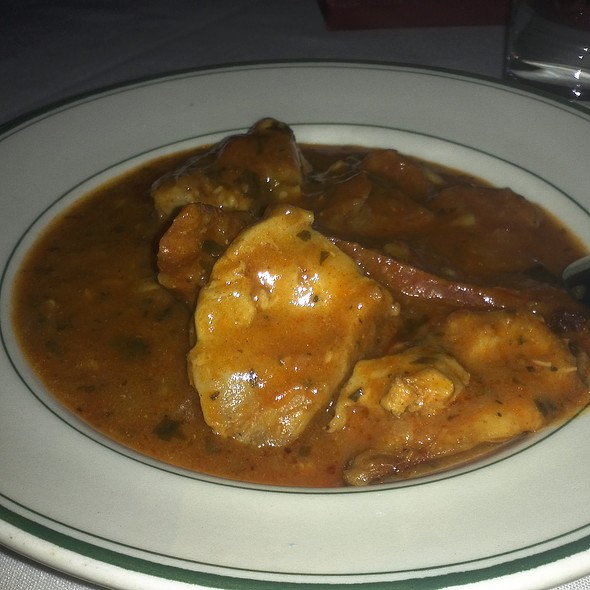 Pollo A La Sevillana Chorizo - Panache Restaurant, Washington, DC
