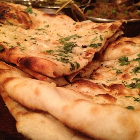 garlic naan - The Dhaba, Tempe, AZ