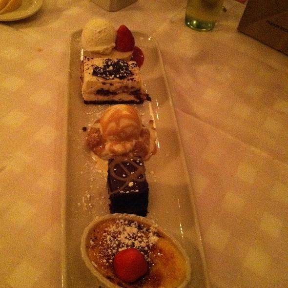 Mini Dessert Sampler - Maggiano's - Durham, Durham, NC