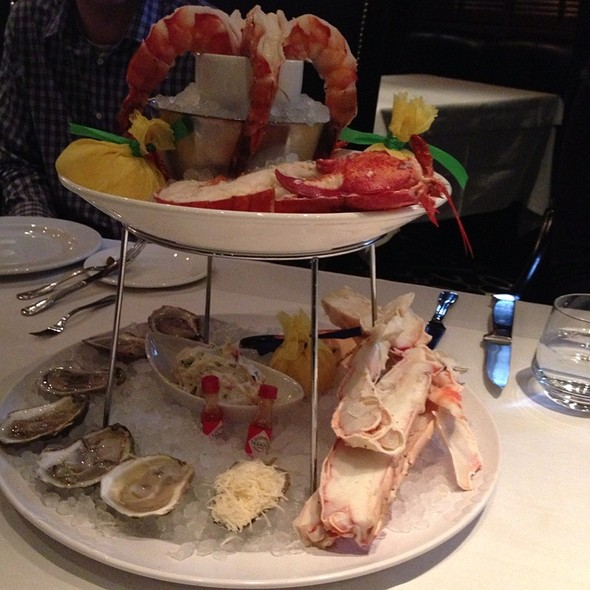 Seafood Tower - Harbour Sixty, Toronto, ON