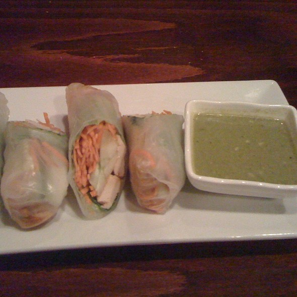 Asian Summer Rolls - Mi Lah Vegetarian BYOB, Ambler, PA