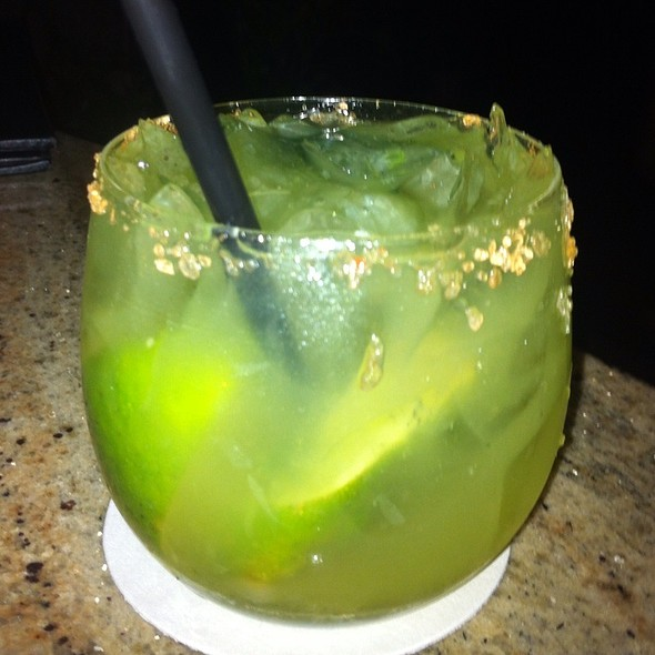 Poblano Pepper Margarita - The Restaurant at Hotel Wailea, Wailea, HI