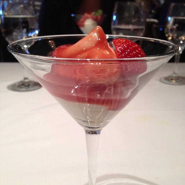 Strawberry Yogurt Martini - Estiatorio Milos - The Cosmopolitan of Las Vegas, Las Vegas, NV