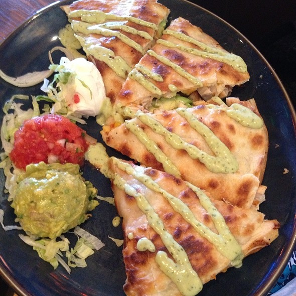 Honey Lime Chicken Quesadilla Special - Rocco's Tacos & Tequila Bar - PGA, Palm Beach Gardens, FL