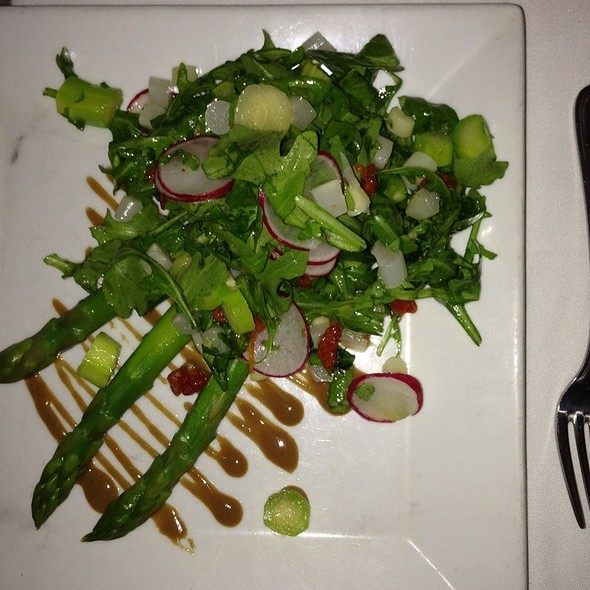 Grilled Asparagus Salad - Glass House Tavern, New York, NY