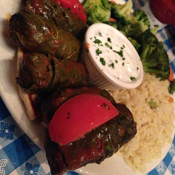 Dolmathes - George's Greek Cafe - Belmont Shore, Long Beach, CA