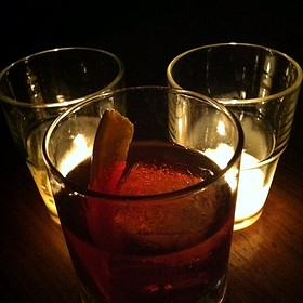 Old Fashioned - The Mortimer Bar & Lounge at the Hotel Adagio, San Francisco, CA