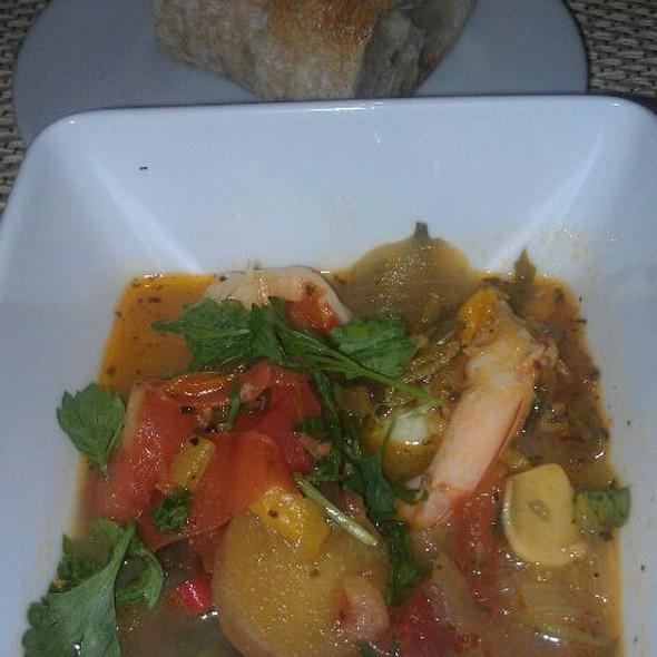 Shrimp Provencal - Sapphire Grill, Savannah, GA
