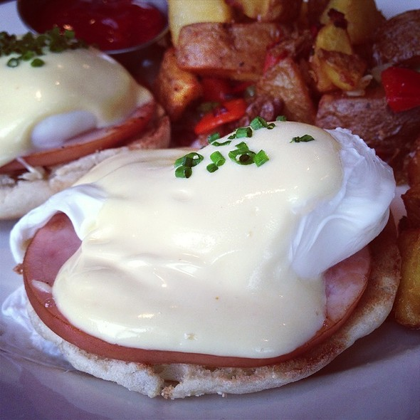 Eggs Benedict - Mission Rock Resort, San Francisco, CA