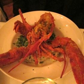 Deep fried lobster - Oak Steakhouse, Charleston, SC
