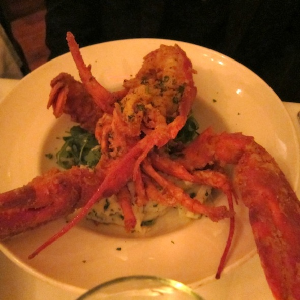 Deep fried lobster - Oak Steakhouse, Charleston, SC