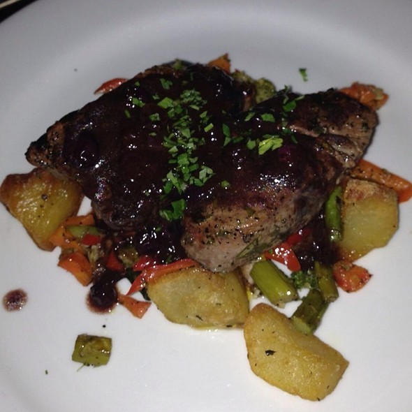 Blueberry Filet Mignon - Cafe Firenze, Moorpark, CA