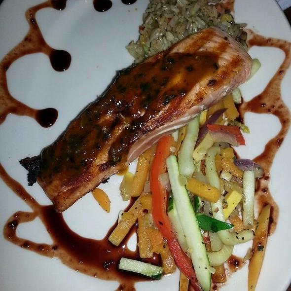 Miso Glazed Salmon - Z'Tejas Scottsdale, Scottsdale, AZ