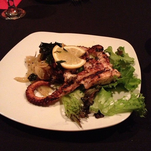 Grilled Octopus - Scaturro's Restaurant & Bar, Marlton, NJ